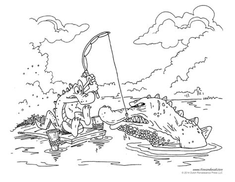 coloring page of american alligator alligator coloring pages