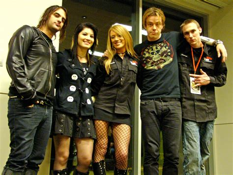 sick puppies band sick puppies stop by kznd anchorage alternative artist band and radio photos