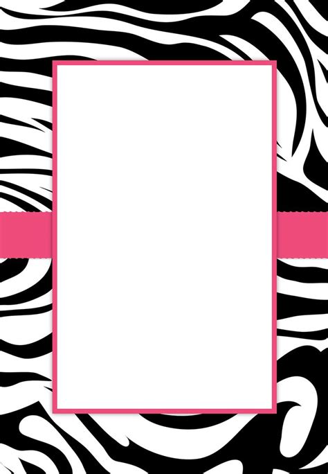 animal print birthday card template convites de 15 anos 50 modelos e como fazer