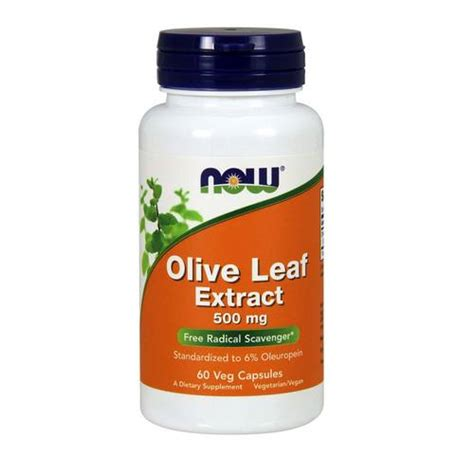 Does Olive Leaf Extract Detox The now foods olive leaf extract 60 vcapsules evitamins