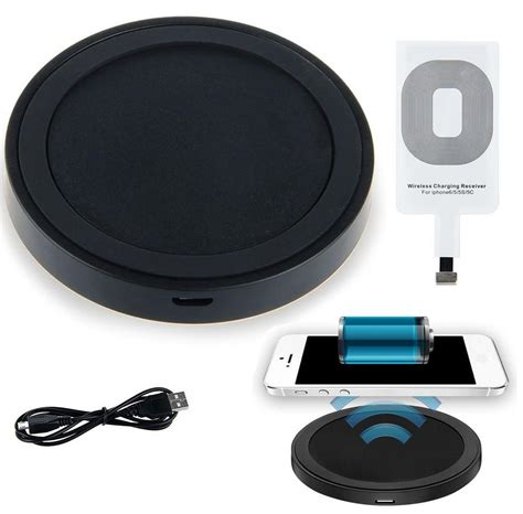 qi wireless charger pad kit  apple iphone