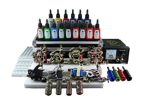 tattoo equipment pictures top cheap tattoo kits available online white ink tattoos