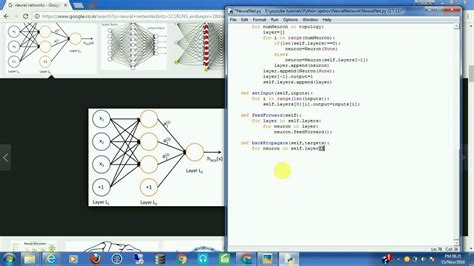 python tutorial networking neural network artificial intelligence how to write a