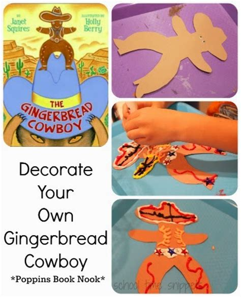 make your own hats classic reprint books design your own gingerbread cowboy school time snippets