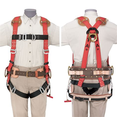 Safety Belt tower work safety harness padded 87963 klein tools