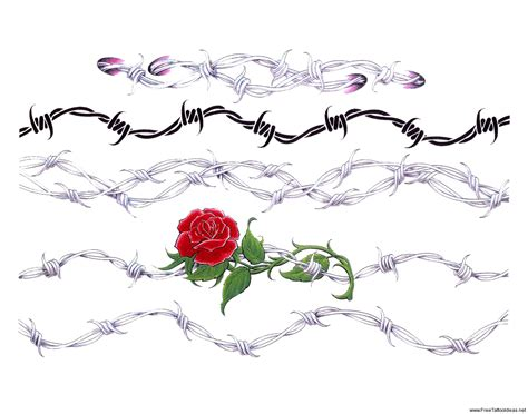 design tattoo names online free barbed wire tattoos