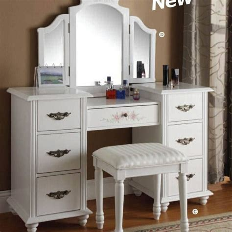 Athy Transitional White Solid Wood Vanity With Stool by Tocador Antiguo Blanco Buscar Con Muebles