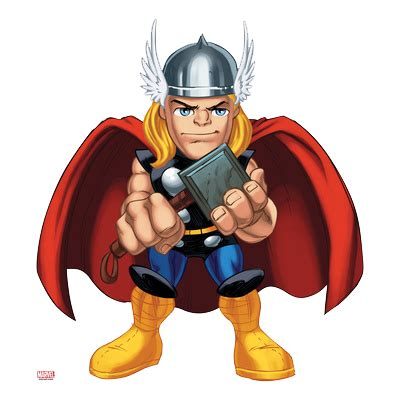 thor clipart thor poster marvel squad clipart