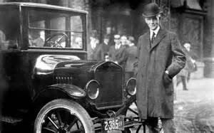 Henry Ford Records Henry Ford With Model T Photo 1