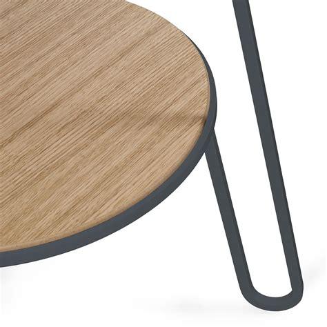 sediarreda tavoli anatole tavolino in metallo e legno sediarreda