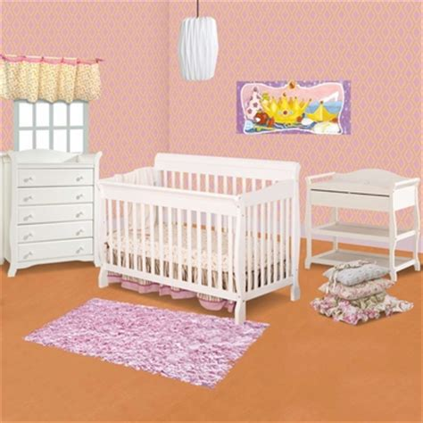 White Crib With Attached Changing Table by 404 Not Found