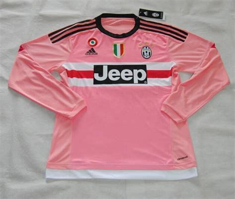 Juventus Home Ls 1 juventus 2015 16 away soccer jersey ls with all patch