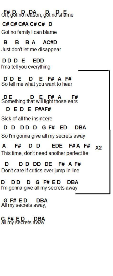 secret intro tabs secrets one republic tutorial guitarra onerepublic secrets