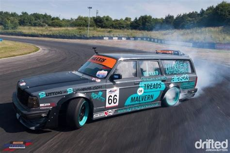 Volvo 240 Drift Wagon Why Not Cars