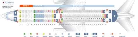 seat map boeing 767 seat map boeing 767 300 delta airlines best seats in plane