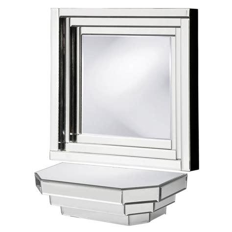 howard elliott 11062 mirrored wall shelf