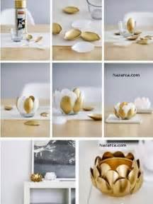Do It Yourself Decorating Projects For The Home Yaldizli Boyanmi Ka Iklardan Ve Cam Bardaktan Mumluk
