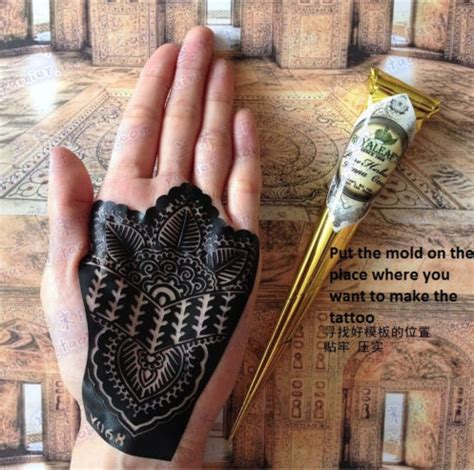 white henna tattoo kit 12 x 2 brown black white henna paste cones kit my