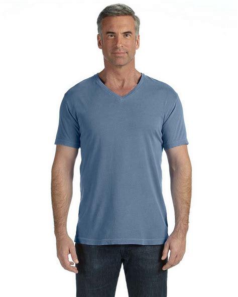 blue jean comfort colors comfort colors c4099 v neck t shirt apparelnbags
