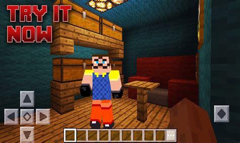 aptoide hello neighbor free hello neighbor mod for minecraft pe apk download for