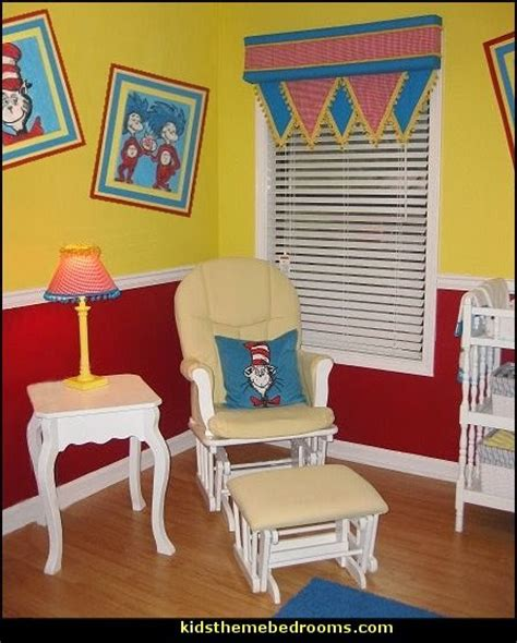 dr seuss bedroom decor decorating theme bedrooms maries manor cat in the hat