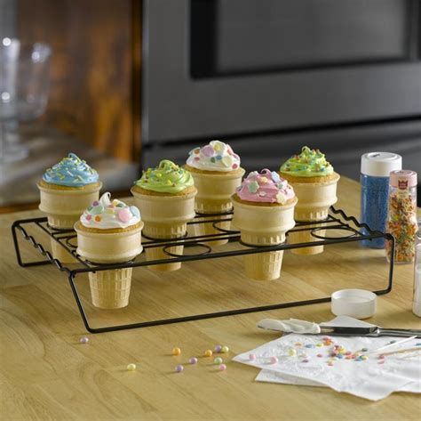 Cupcake Cone Baking Rack by Nifty Home Products Cupcake Cone Baking Rack
