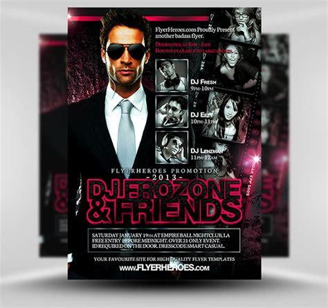 dj event poster templates free 70 best free flyer psd templates designmaz