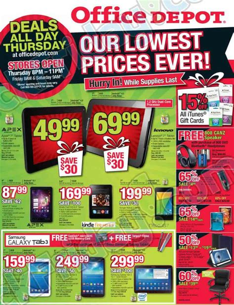 Office Depot Deals Office Depot Black Friday 2013 Ad Find The Best Office