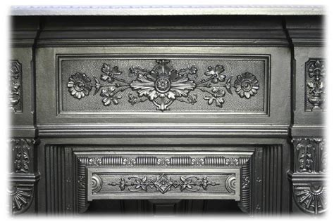 Bedroom Fireplace For Sale Antique Late Cast Iron Bedroom Fireplace For