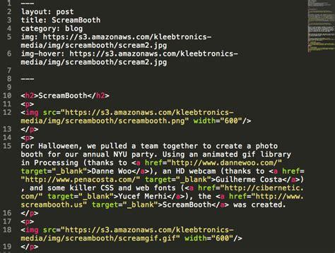 jekyll layout variables kleebtronics