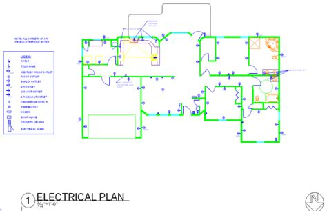 house electrical plan autocad drawings by tiffany gagne at coroflot com