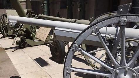 french 75 gun french 75 mm field gun schneider buenos aires youtube