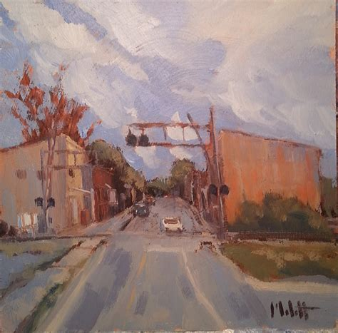 small town america heidi malott original paintings main street small town