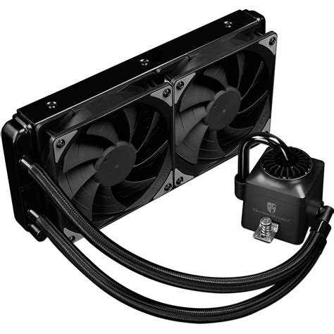 Deepcool Captain 240 Ex Rgb deepcool captain 240ex rgb liquid cpu cooler captain 240