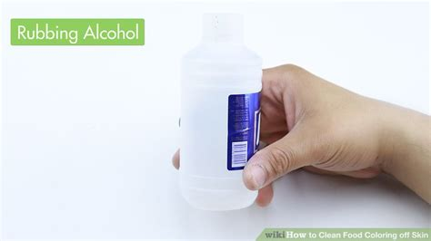 how to get food coloring 4 ways to clean food coloring skin wikihow