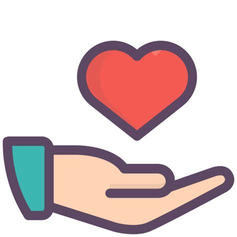 imagenes png love icono el amor la mano el dia de san valentin dia gratis de