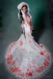 dark fashion wedding gowns for the horror loving bride horror movie news and reviews