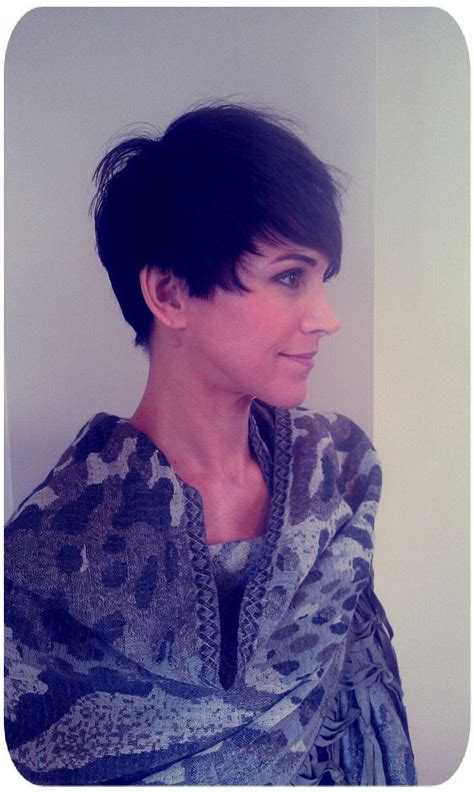 haircut to a beautiful brunette pixie youtube 1000 images about trendy hairstyles for 2016 on pinterest