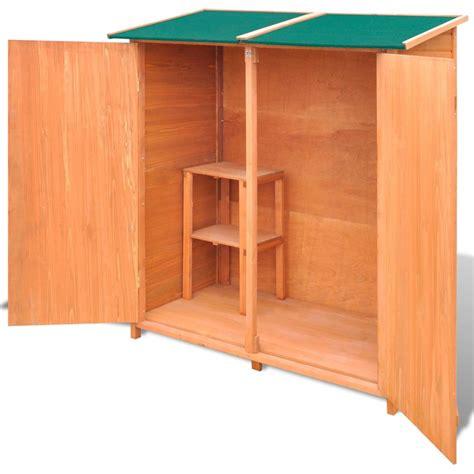 capannone in legno grande capannone da giardino in legno vidaxl it