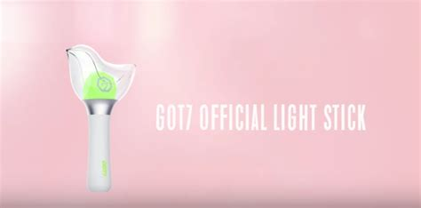 Official Lightstick Got7 got7 reveals adorable official light stick soompi