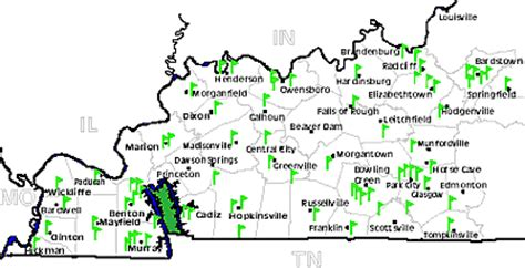 kentucky golf map kentucky golf map 28 images state parks of kentucky