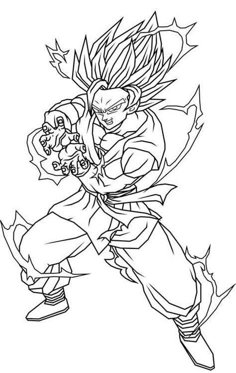 coloring book vs tlop 50 desenhos do goku para colorir anime z