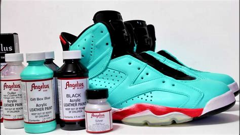 angelus paint air 6 tiff customs kos kingofsneakers