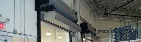 Commercial Air Curtain Doors - berner air curtains and air doors national overhead door