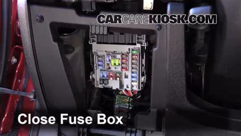 interior fuse box location   chevrolet malibu  chevrolet malibu eco   cyl