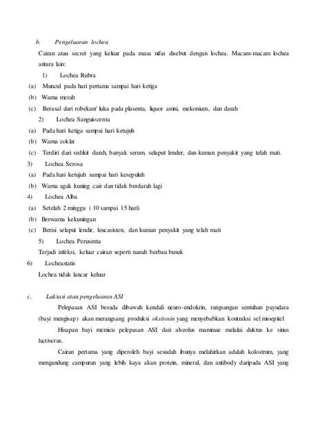 contoh laporan golongan darah contoh laporan kasus nifas menggunakan langkah varne1