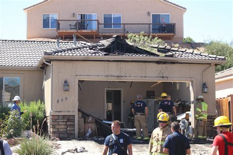 Garage Doors St George Utah by Firefighter Injured When Garage Door Drops During
