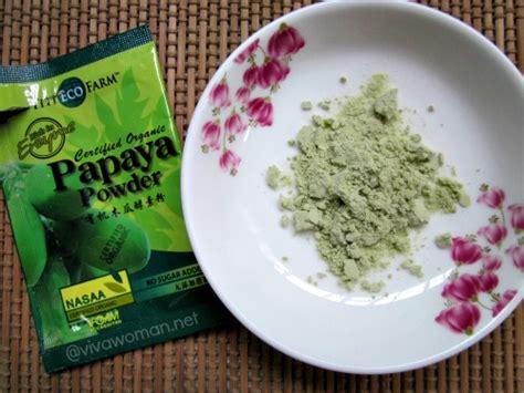 Viva Mask Pepaya diy green papaya enzyme mask