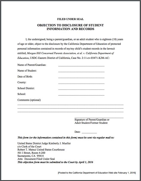 Adoption Records California Lawsuit Against The California Department Of Education