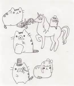 pusheen coloring pages pusheen coloring pages to print pictures to pin on